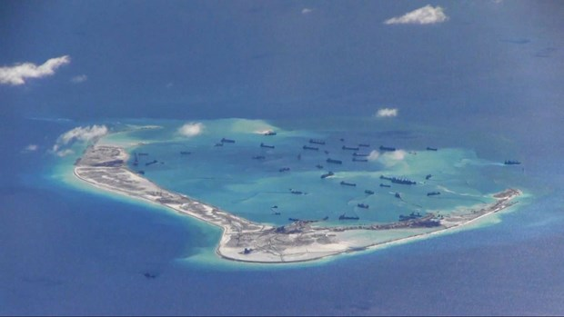 Le Pentagone met en garde Pekin contre les constructions en Mer Orientale hinh anh 1