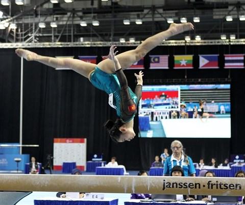 Dinh Phuong Thanh, la nouvelle pepite de la gymnastique artistique hinh anh 2