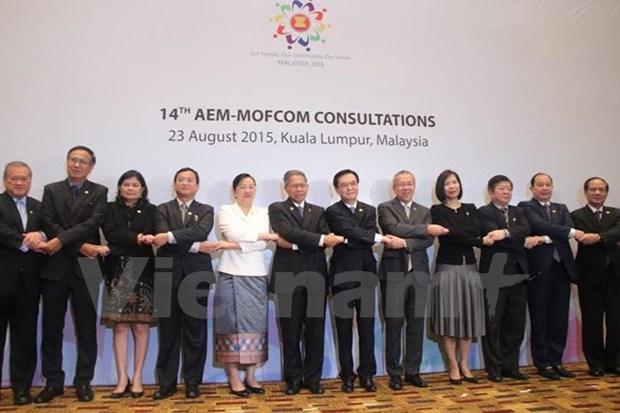 Economie : consultations entre l'ASEAN et des partenaires hinh anh 1