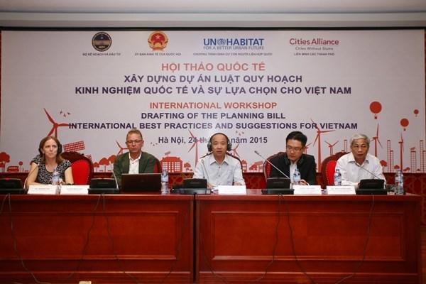 La Loi sur la planification devrait regler les desaccords d'interets hinh anh 1