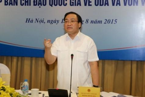 Le vice-PM Hoang Trung Hai veut hater le decaissement d'APD hinh anh 1