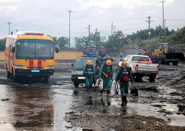 Quang Ninh : la derniere victime de l'eclatement de «poches d'eau» retrouvee hinh anh 1