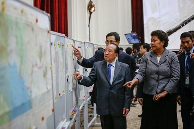 Le Royaume-Uni pret a preter au Cambodge des cartes conservees hinh anh 1