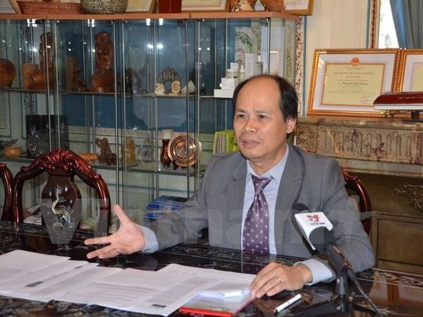 L'accord de libre-echange Vietnam-UE va doper le commerce franco-vietnamien hinh anh 1