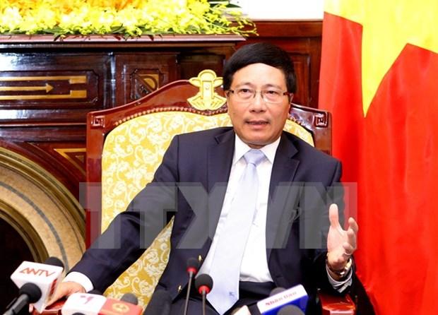 La diplomatie vietnamienne – 70 ans de pair avec la nation hinh anh 1