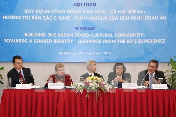 Seminaire sur l'edification de la Communaute socioculturelle de l'ASEAN hinh anh 1
