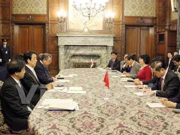 La vice-presidente de l'AN Nguyen Thi Kim Ngan en visite officielle au Japon hinh anh 1