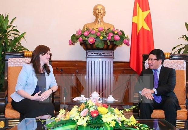 La vice-ministre israelienne des Affaires etrangeres en visite au Vietnam hinh anh 1