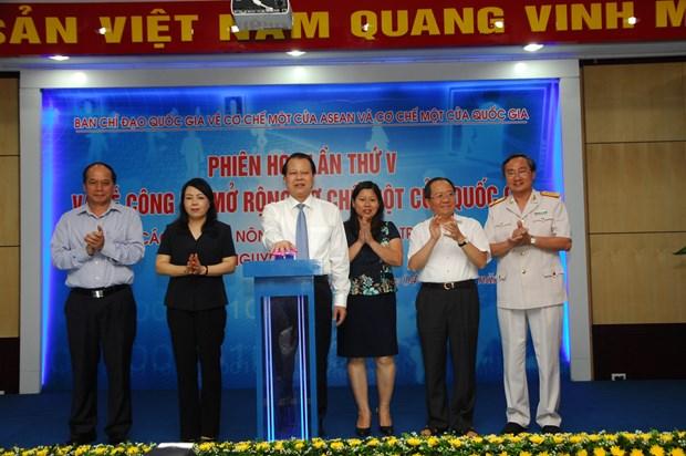 Le Vietnam va signer un texte sur le guichet unique de l'ASEAN hinh anh 1