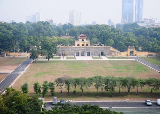 Plan pour la preservation de la cite imperiale de Thang Long-Hanoi hinh anh 1