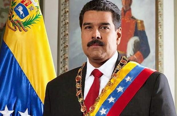 Le president venezuelien Nicolas Maduro Moros le 30 aout au Vietnam hinh anh 1