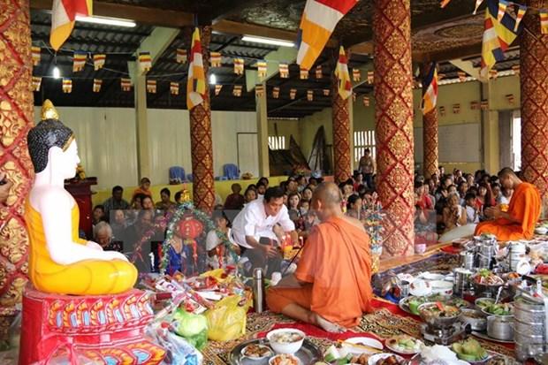 Enseignement de la langue khmere a Kien Giang hinh anh 1