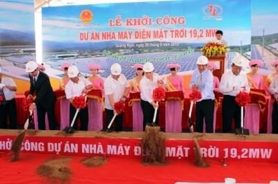Mise en chantier de la 1ere Centrale solaire du Vietnam hinh anh 1