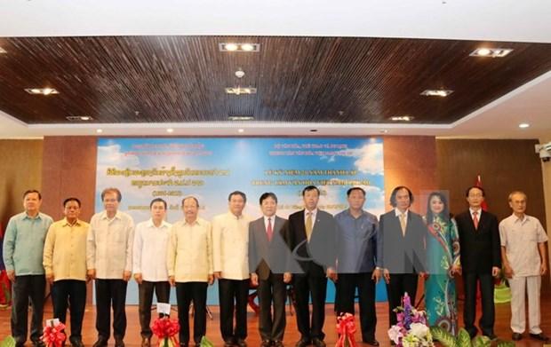 Ouverture de la semaine de la culture vietnamienne au Laos hinh anh 1