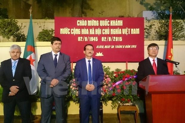 Celebration de la Fete nationale du Vietnam en Algerie hinh anh 1