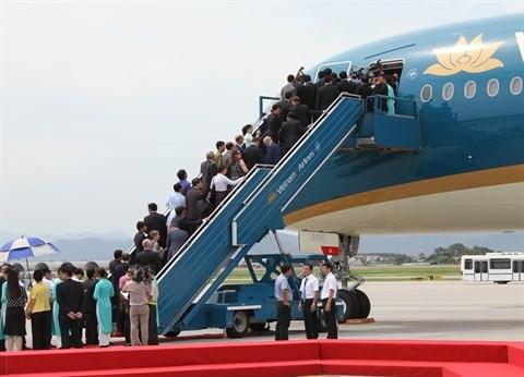 Vietnam Airlines augmente ses vols domestiques hinh anh 1