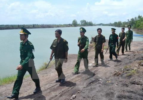 Enquete sur le sabotage d'une borne frontiere Cambodge-Vietnam hinh anh 1