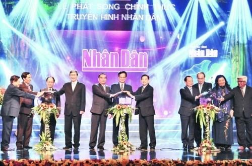 La Television Nhan Dan entre officiellement en service hinh anh 1