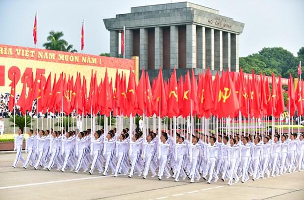 Le Vietnam celebre en grande pompe sa 70e Fete nationale hinh anh 4