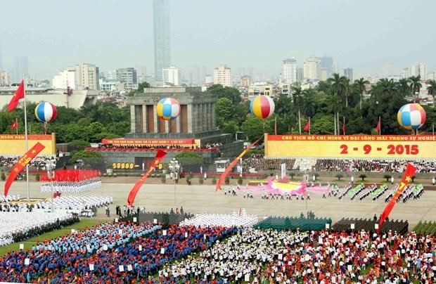 Le Vietnam celebre en grande pompe sa 70e Fete nationale hinh anh 5