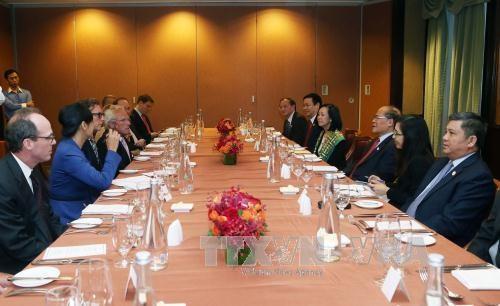 La cooperation economique et au commerce est force motrice des relations Vietnam-Etats-Unis hinh anh 1