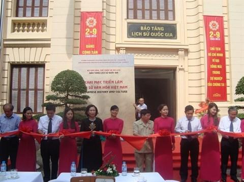 L'histoire et la culture du Vietnam exposees en six volets a Hanoi hinh anh 1