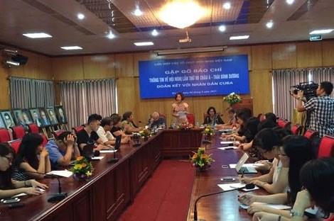 Bientot la 7e Conference regionale d'Asie-Pacifique de solidarite avec Cuba a Hanoi hinh anh 1