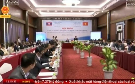 Vietnam-Laos : seminaire sur la consultation au service du gouvernement et du Premier ministre hinh anh 1