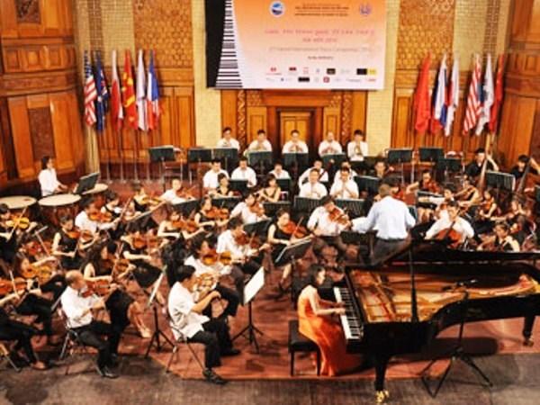 Ouverture du 3eme Concours international de piano de Hanoi hinh anh 2
