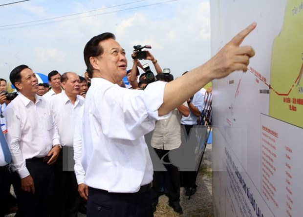 Mise en chantier de grands ouvrages a Kien Giang hinh anh 1