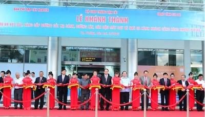Inauguration du projet d'agrandissement et d'amelioration de l'aeroport de Pleiku hinh anh 1