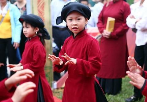 Le chant xoan va resonner au temple du patrimoine immateriel de l'humanite hinh anh 2