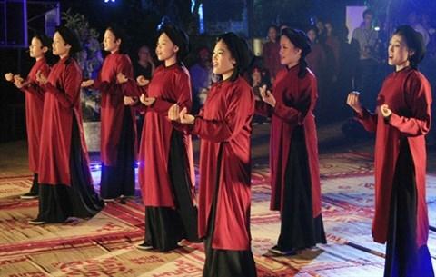 Le chant xoan va resonner au temple du patrimoine immateriel de l'humanite hinh anh 1