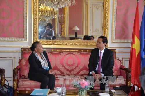 L'inspecteur general du gouvernement en visite de travail en France hinh anh 1