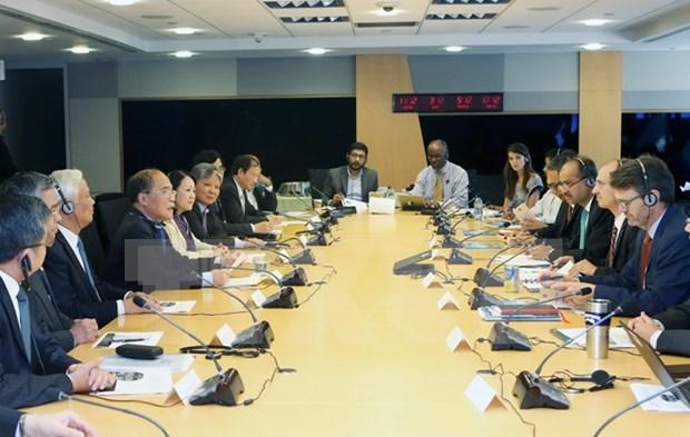 Nguyen Sinh Hung rencontre le president de la Banque mondiale hinh anh 2