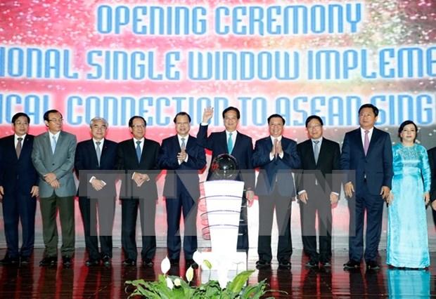 Le Vietnam lance officiellement son guichet unique national hinh anh 1