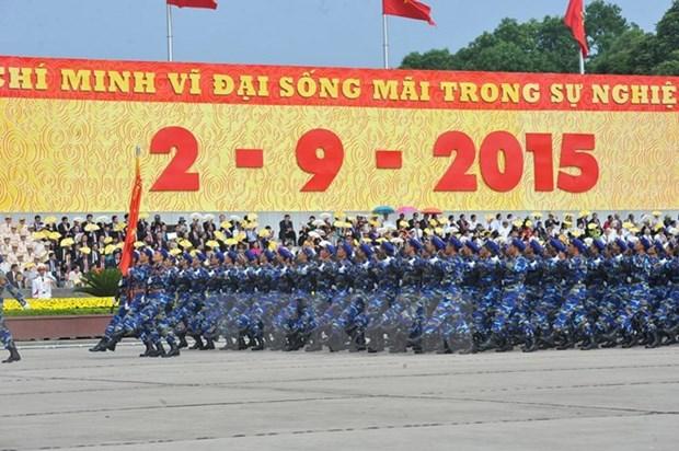 Felicitations pour les 70 ans d'independance du Vietnam hinh anh 1