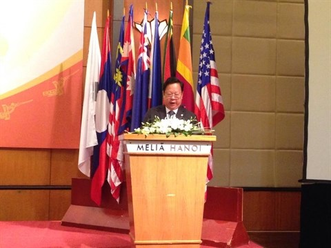 Cloture de la 7e conference d'Asie-Pacifique de solidarite avec Cuba hinh anh 1