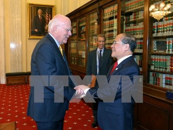 Activites du president de l'AN Nguyen Sinh Hung aux Etats-Unis hinh anh 1