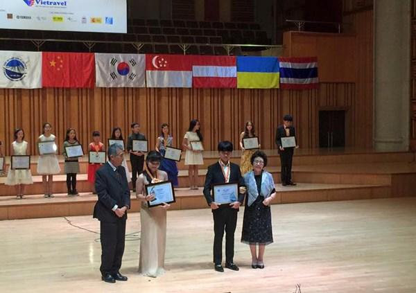 Le Vietnam grand gagnant du 3e Concours international de piano de Hanoi hinh anh 1