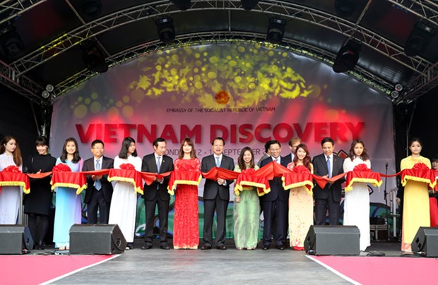 Vu Van Ninh inaugure le festival Vietnam Discovery au Royaume-Uni hinh anh 1