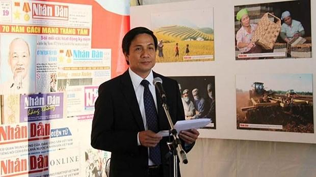Le jounal Nhan Dan a la Fete de l'Humanite 2015 hinh anh 1