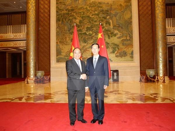 Le Vietnam et la Chine intensifient leurs relations hinh anh 1