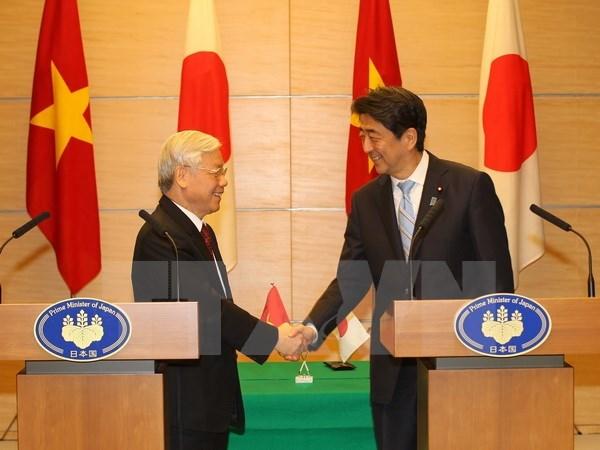 Declaration sur la Vision commune des relations Vietnam-Japon hinh anh 1