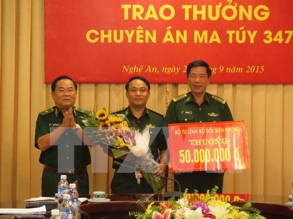 Trois personnes arretees pour trafic transfrontalier de drogue hinh anh 1