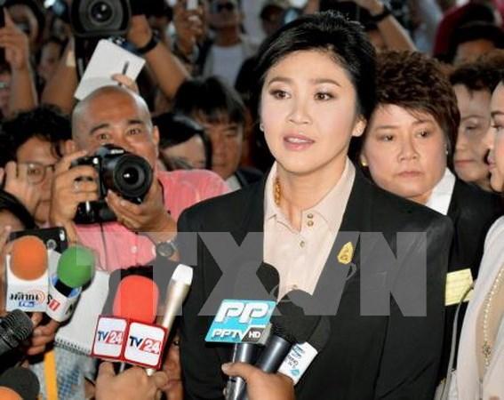 Thailande : l'ancienne Premiere ministre Yingluck doit payer des dedommagements hinh anh 1