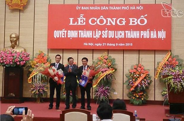 Le Service du tourisme de Hanoi voit le jour hinh anh 1