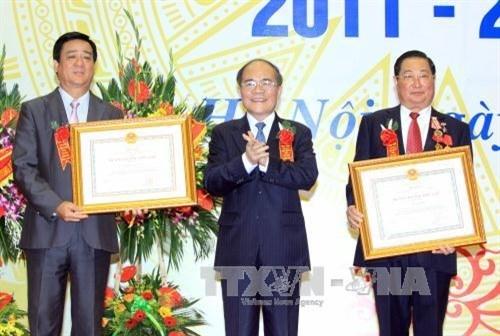 Congres d'emulation patriotique du Comite des affaires ethniques hinh anh 1