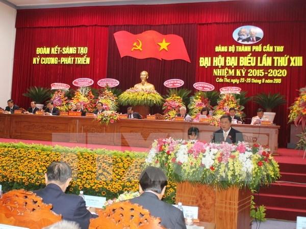 Congres des organisations du PCV pour Can Tho et Bac Ninh hinh anh 1