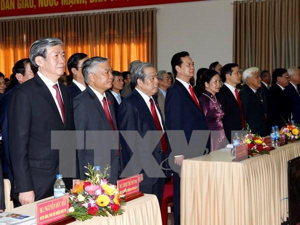 Congres de l'organisation du Parti communiste du Vietnam pour Quang Tri hinh anh 1
